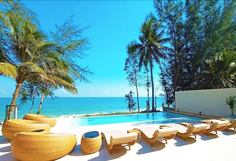 Resto Sea Resort, Bang Saphan, Deginimosi terasa