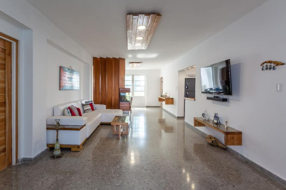 Deluxe apartman - Nappali