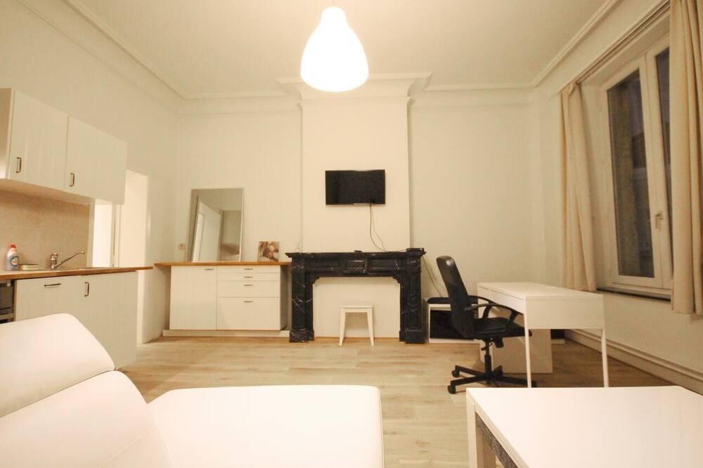 Apartamentai (1) - Svetainės zona