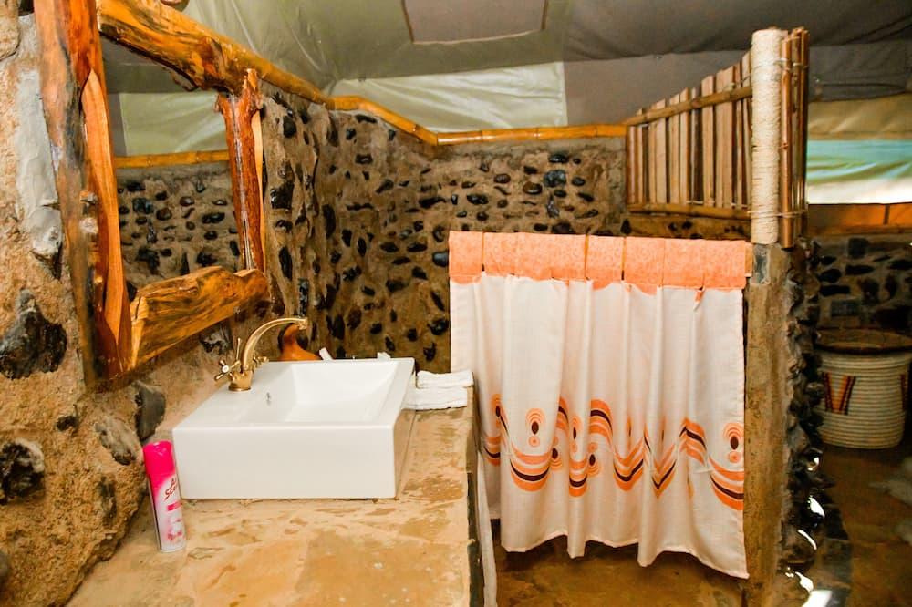 Розкішний намет - Ванна кімната