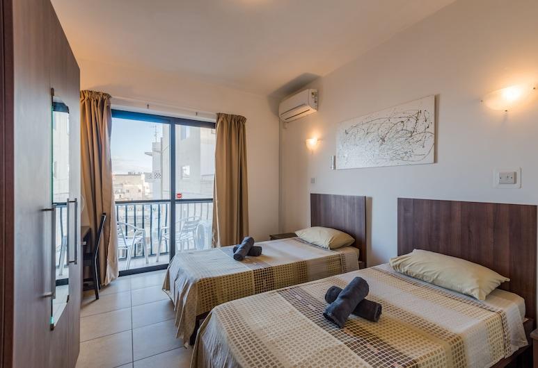 Summer Breeze Comfort Apartments, Mellieha, Apartment, 2 Bedrooms (1), Room