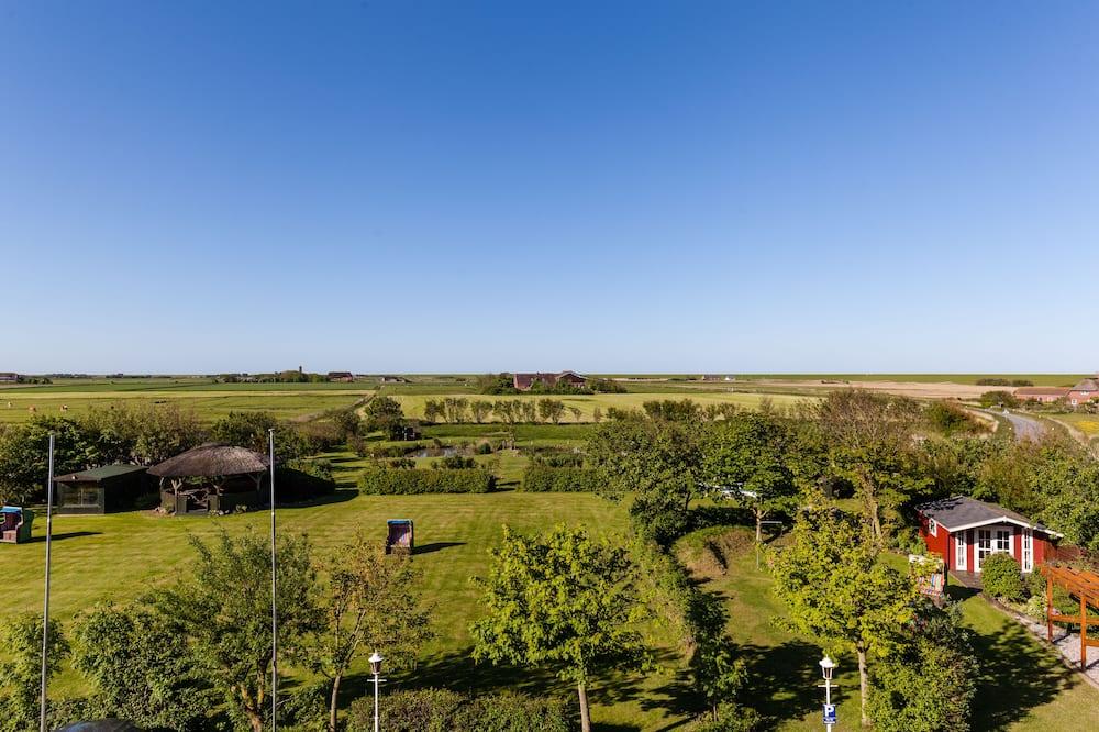 Standard-Doppelzimmer - Blick auf den Garten