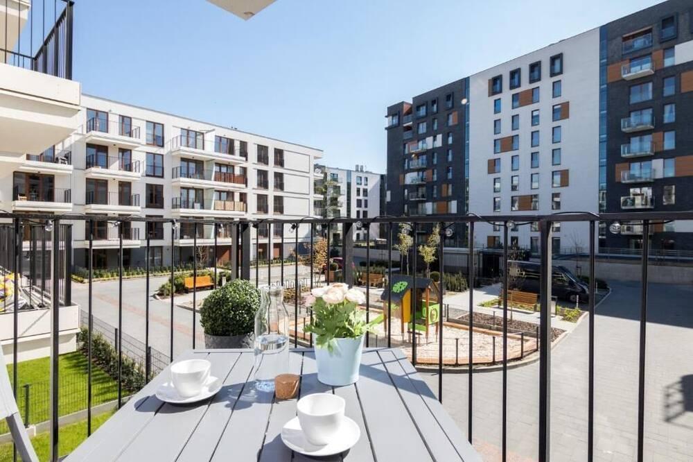 apartman, 1 hálószobával - Kilátás az erkélyről