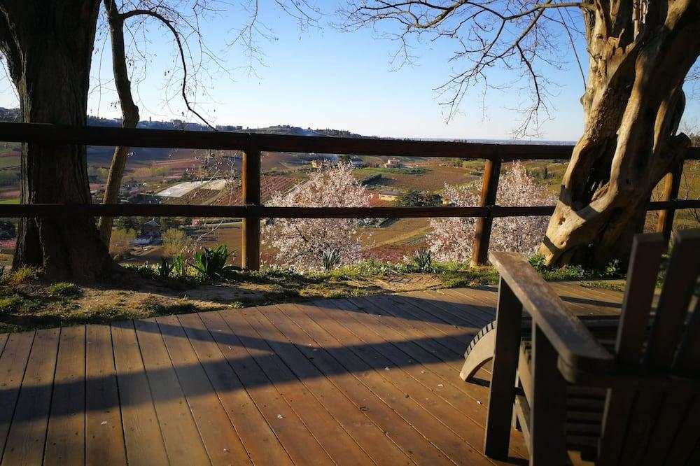 Superior szoba kétszemélyes vagy két külön ággyal, kilátással a dombra - Kilátás a hegyre