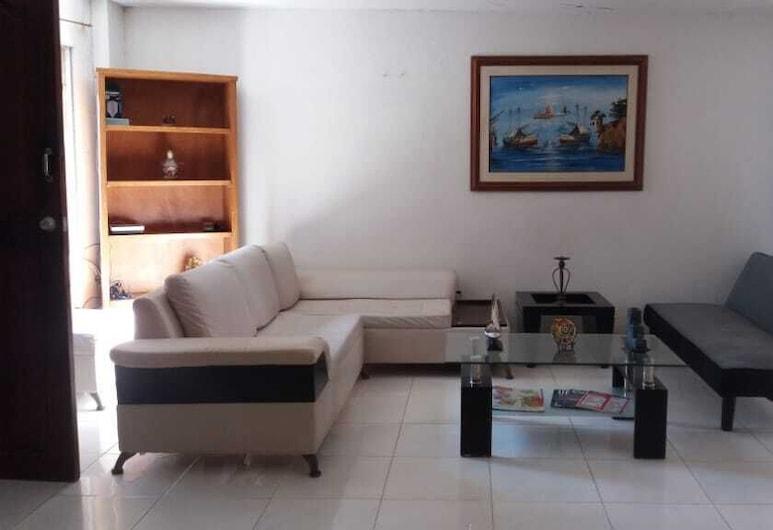 Hostal Edificio Malecon , Cartagena, 大堂閒坐區