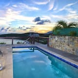 Villa With 3 Bedrooms in Sint Maarten, With Wonderful sea View, Private Pool, Terrace - 200 m From the Beach, Philipsburg