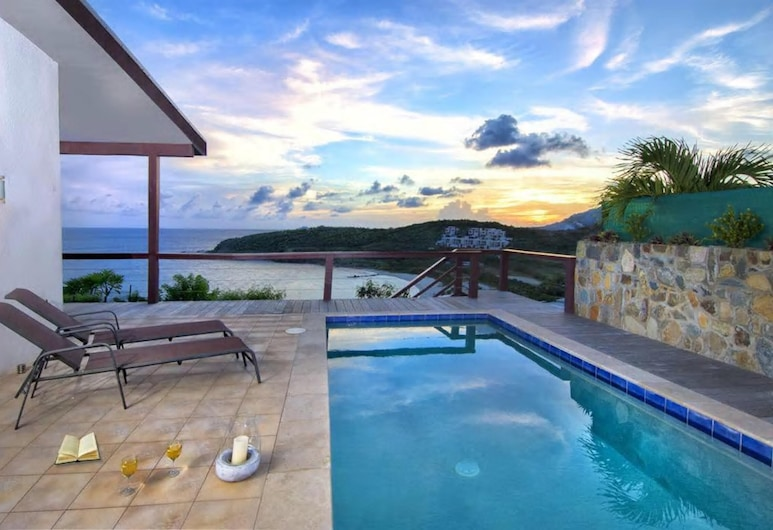 Villa With 3 Bedrooms in Sint Maarten, With Wonderful sea View, Private Pool, Terrace - 200 m From the Beach, ฟิลิปส์เบิร์ก