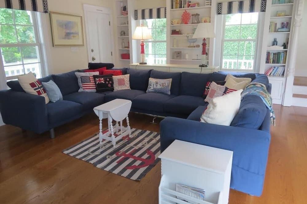 獨棟房屋, 多張床, 庭院 - 客廳