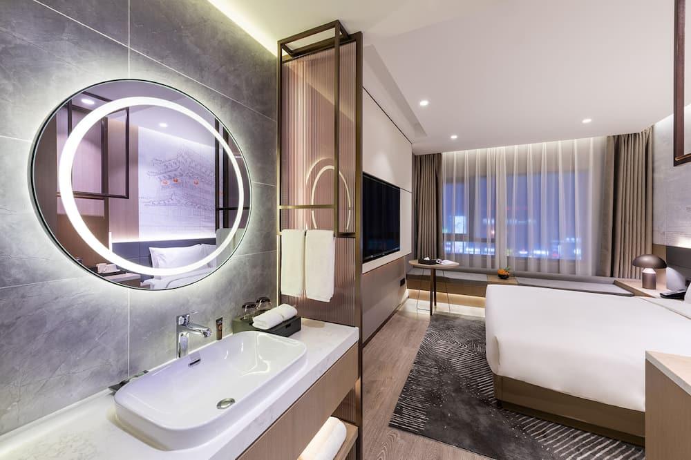 スーペリア ルーム キングベッド 1 台 - バスルーム