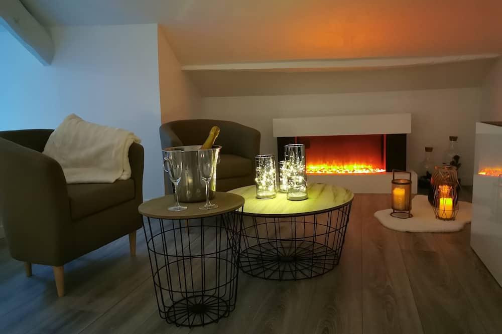 Căn hộ Superior, Bồn tắm nước nóng (L'Envol) - Lounge