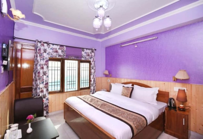 Hill View Cottage, Shimla, Deluxe-Doppelzimmer, Zimmer