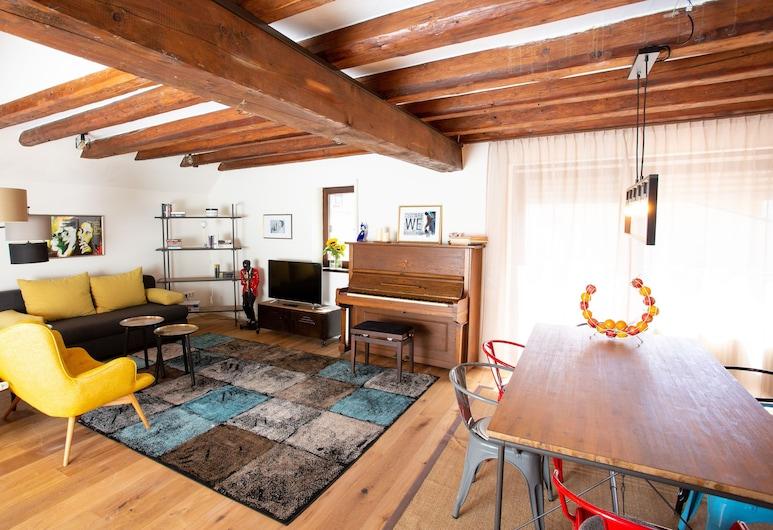 Villa Cantare, Obernburg, Villa de diseño (2 floors), Sala de estar