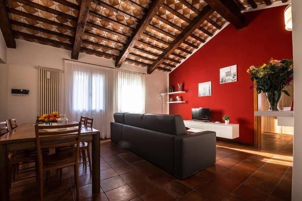 Apartment (Rosso) - Wohnbereich