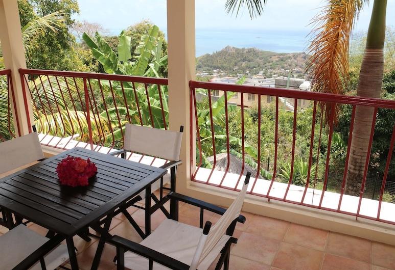 Villas Evasion, Isla Rodrigues, Terraza o patio