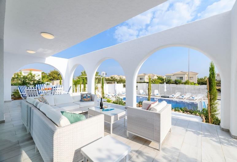 Panorama Blu Villa, Protaras, Terrasse/Patio