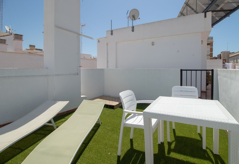 マラガ ソーホー キュート アパートメント, Málaga, 屋上テラス