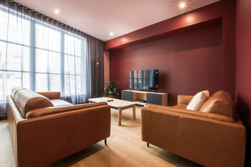 Departamento, 2 habitaciones (D203) - Sala de estar