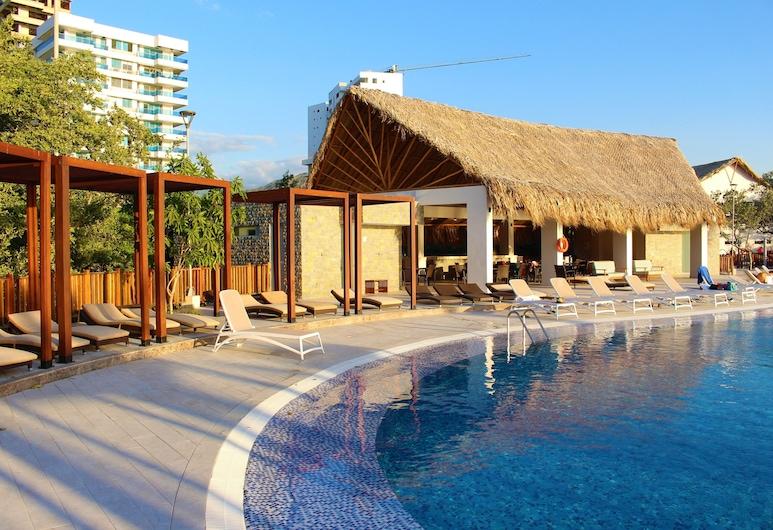 Apartamentos Samaria Club de Playa, Santa Marta, Piscina