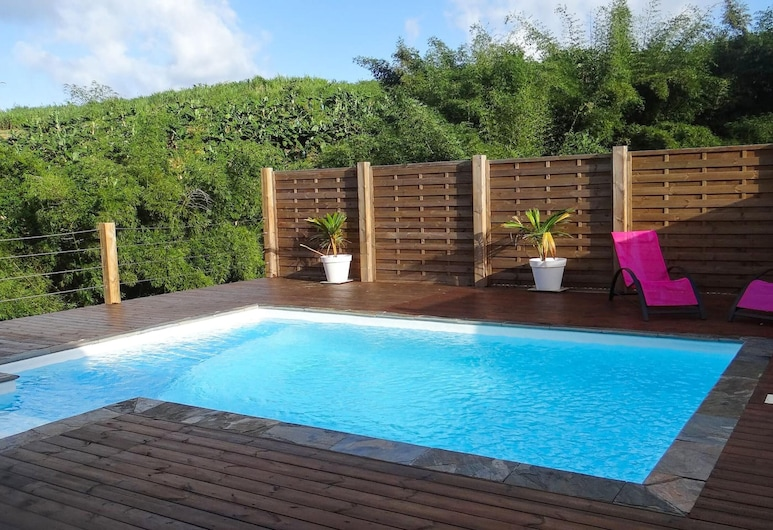 Villa With 2 Bedrooms in Le Lorrain, With Private Pool, Enclosed Garden and Wifi, Le Lorrain