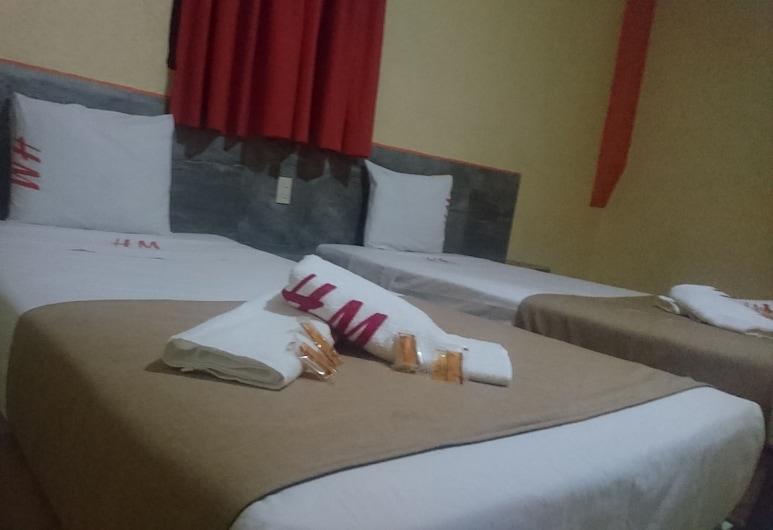 Hotel Madrid, Guadalajara, Basic-Zweibettzimmer, 2Einzelbetten, Zimmer