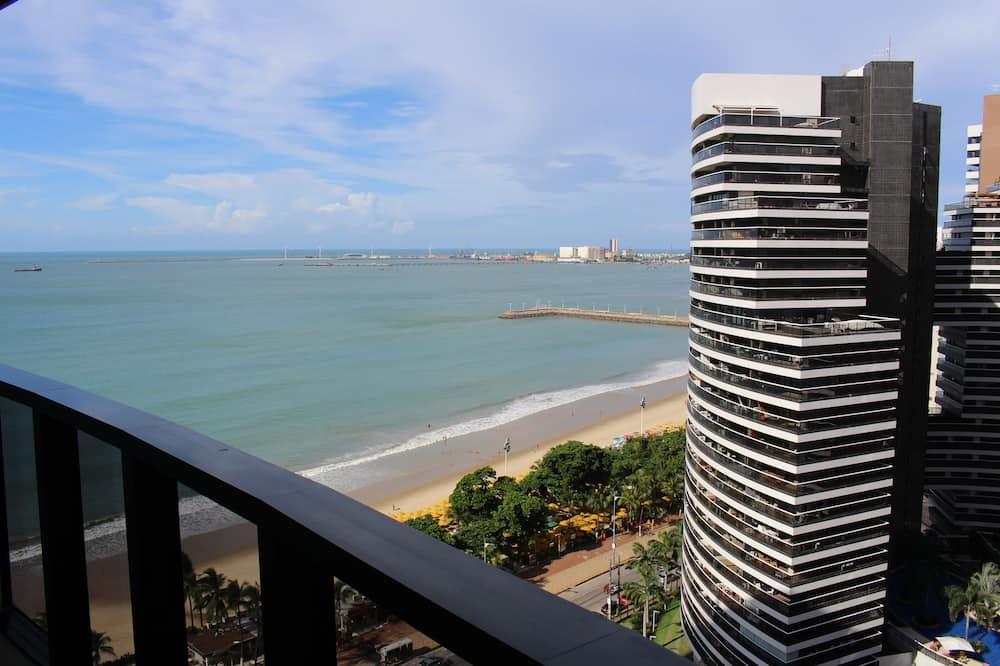 標準公寓, 1 間臥室, 海灘景觀 - 陽台
