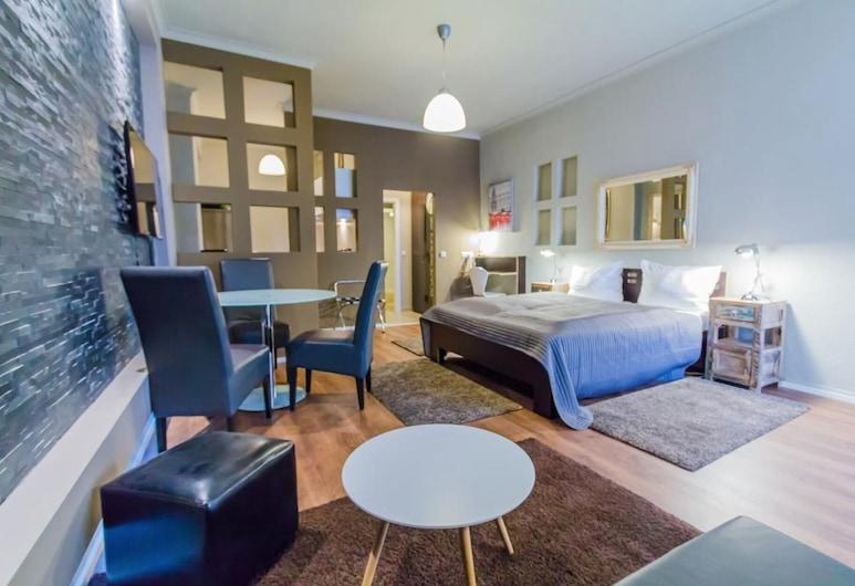 BEN'S BOARDINGHOUSE, Heidelberg, Comfort Studio, Living Area