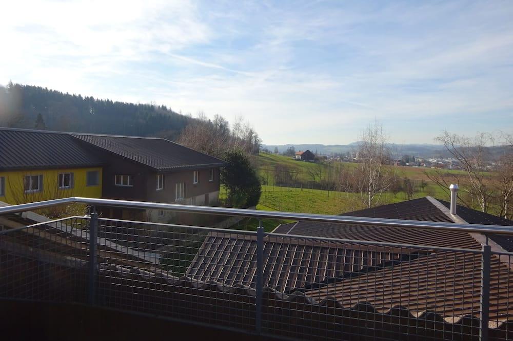 Apartment, 2Schlafzimmer, Balkon (West) - Balkon