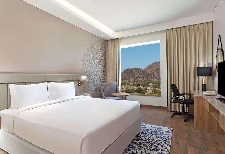 Doubletree by Hilton Jaipur Amer, Jamwa Ramgarh, Habitación, 1 cama King size, con vista, Habitación