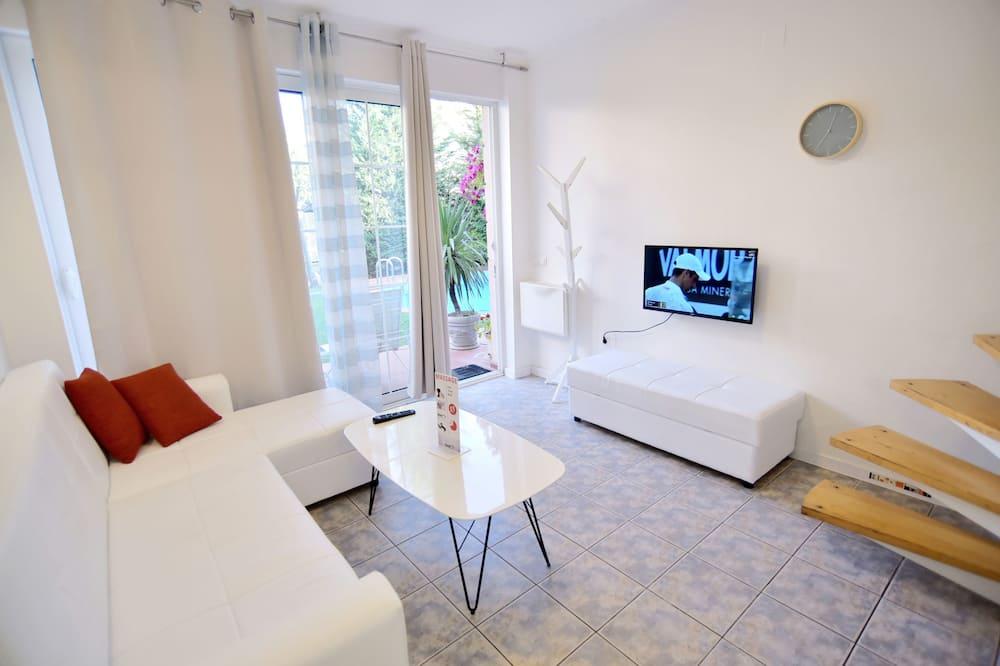 דופלקס, חדר שינה אחד, מרפסת - אזור מגורים