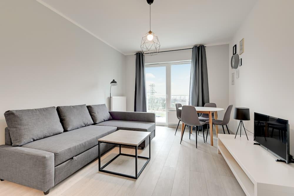 Comfort külaliskorter, 1 magamistoaga, rõduga - Esimene mulje