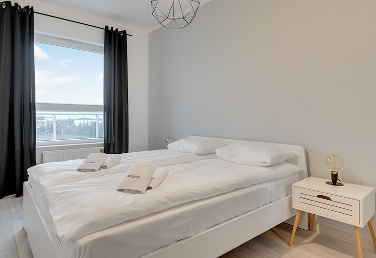 Dom & House - Apartments Baltica Towers, Gdansk, Comfort Apartment, 1 Bedroom, Balcony, Room
