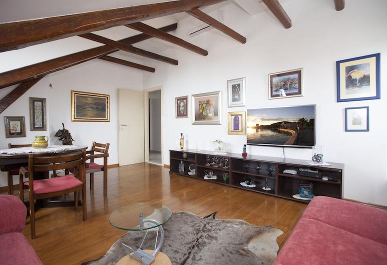Apartment Split Belvedere, Split, Leilighet – luxury, 2 soverom, utsikt mot sjø, Oppholdsområde