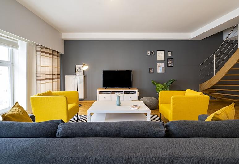Smartflats Ghent Central, Ghent, Superior Apartment, Living Area