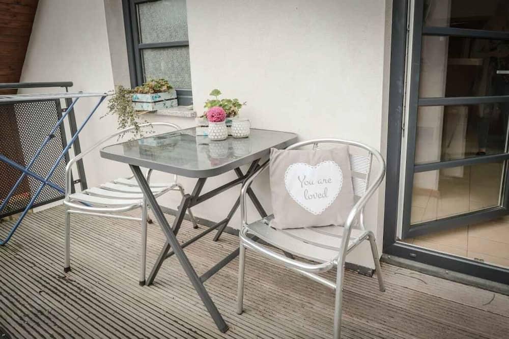 Apartmán, 2 ložnice, balkon (Herzmuschel, Dachgeschoss) - Balkón