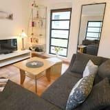 Domek, 2 ložnice, terasa (Bernstein, Duplex) - Obývací pokoj