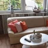 Apartmán, 2 ložnice (Duplex) - Obývací pokoj