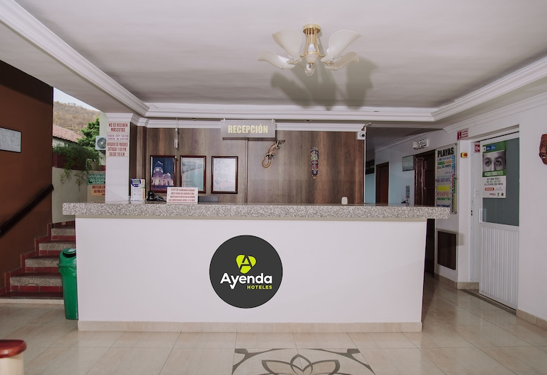 Ayenda 1618 Hotel Colon Rodadero, Santa Marta, Reception