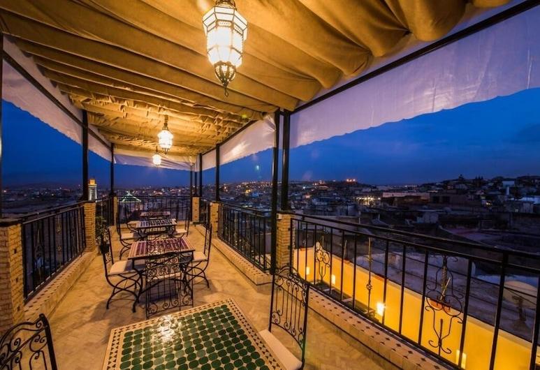 Riad Fes Lala Zahra, Fes, Terrasse/patio