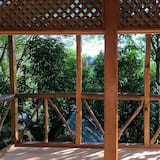Kämpingumaja (Treehouse) - Vaade rõdult