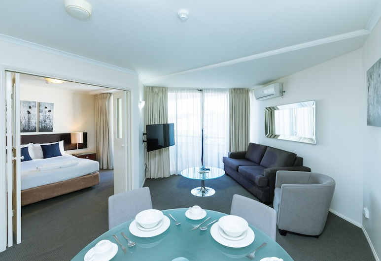 Airtrip Apartment on Edmonstone St, South Brisbane, Apartment, Wohnbereich