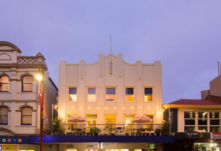 Alabama Hotel Hobart, Hobart, Hotellin julkisivu