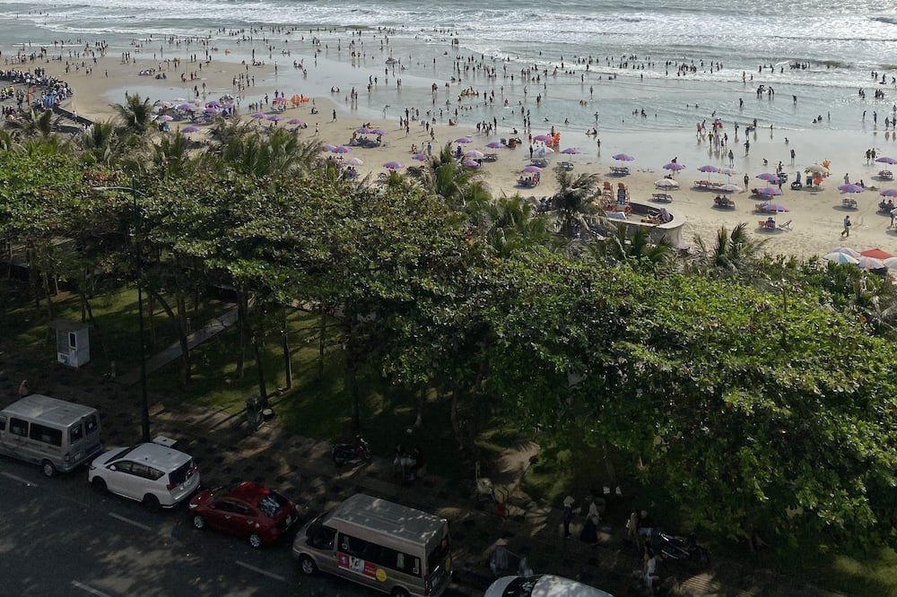 Chambre Double, vue mer - Vue sur la plage/la mer