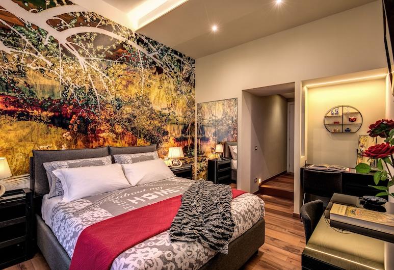 Bed&breakfast Monticello, Rome, Superior tweepersoonskamer, en-suite badkamer, Uitzicht op de stad, Kamer