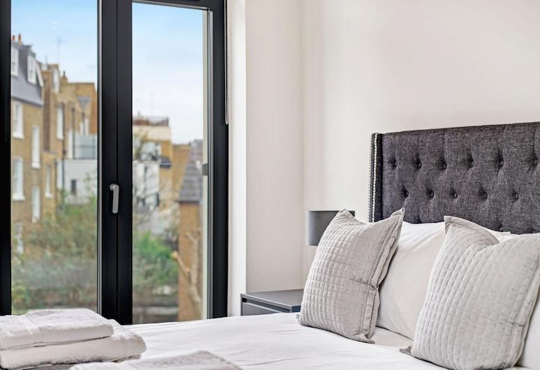Fulham Broadway, London, Luxury-Apartment, mit Bad (3 bedroom property), Zimmer