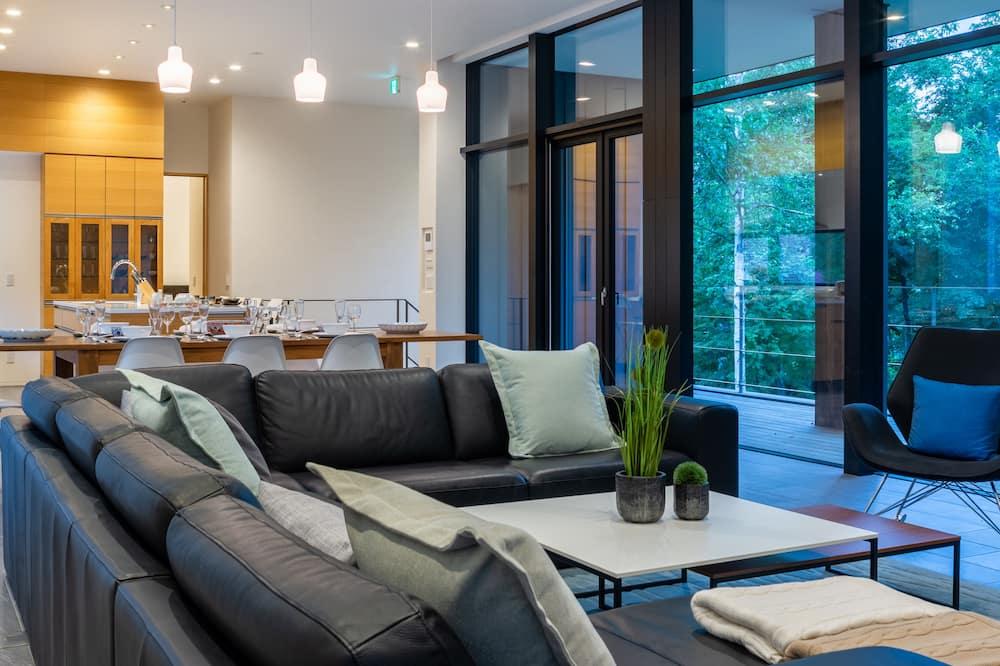Luxury Chalet, 4 Bedrooms - Ruang Tamu