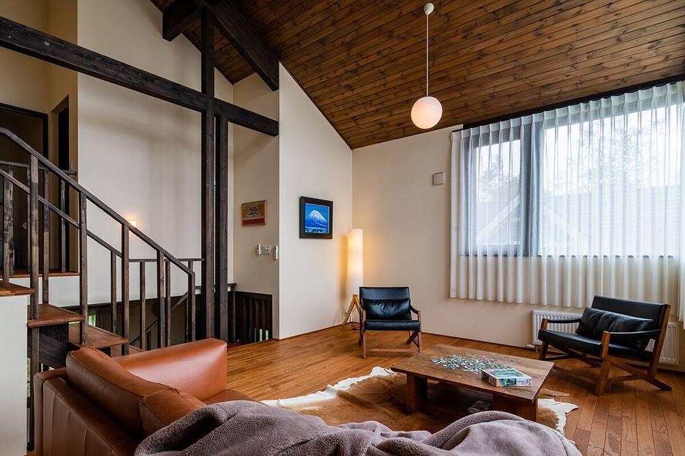 Коттедж, 3 спальни - Зона гостиной
