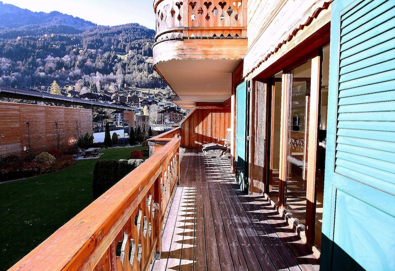 Very Nice 4.5 Rooms at 100m From the Cableway, Champéry, Balcón