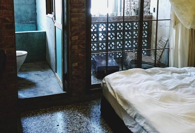 Lingdao Homestay, Tainan, Doppelzimmer (201), Zimmer