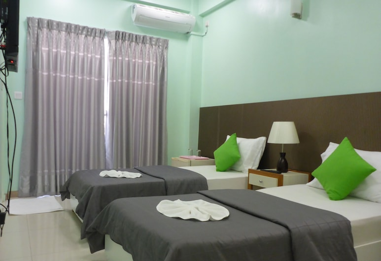 DREAM RELAX INN, Hulhumalé, Chambre Standard Double ou avec lits jumeaux, Chambre
