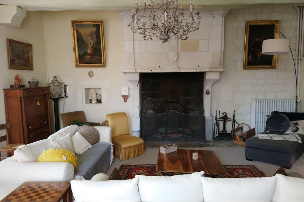 House, 5 Bedrooms (Le Château de Boussay) - Living Room